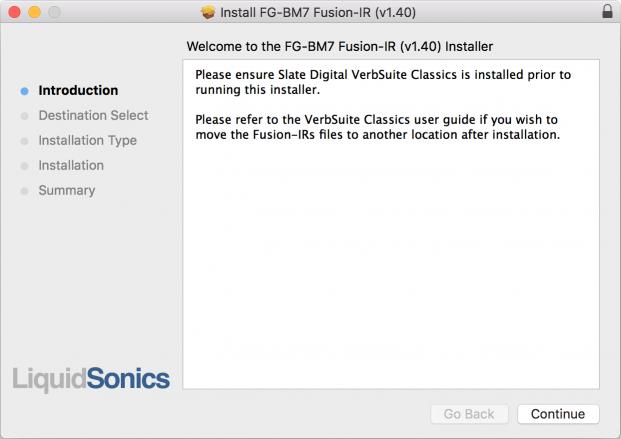 VSC Fusion-IR FG-BM7 Installer