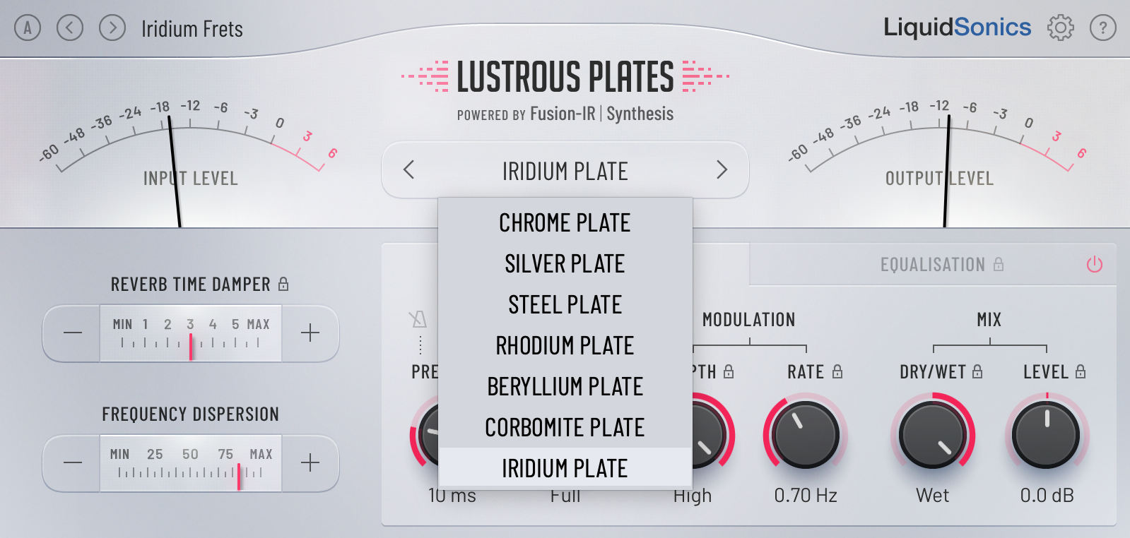 Lustrous Plates - Light Theme