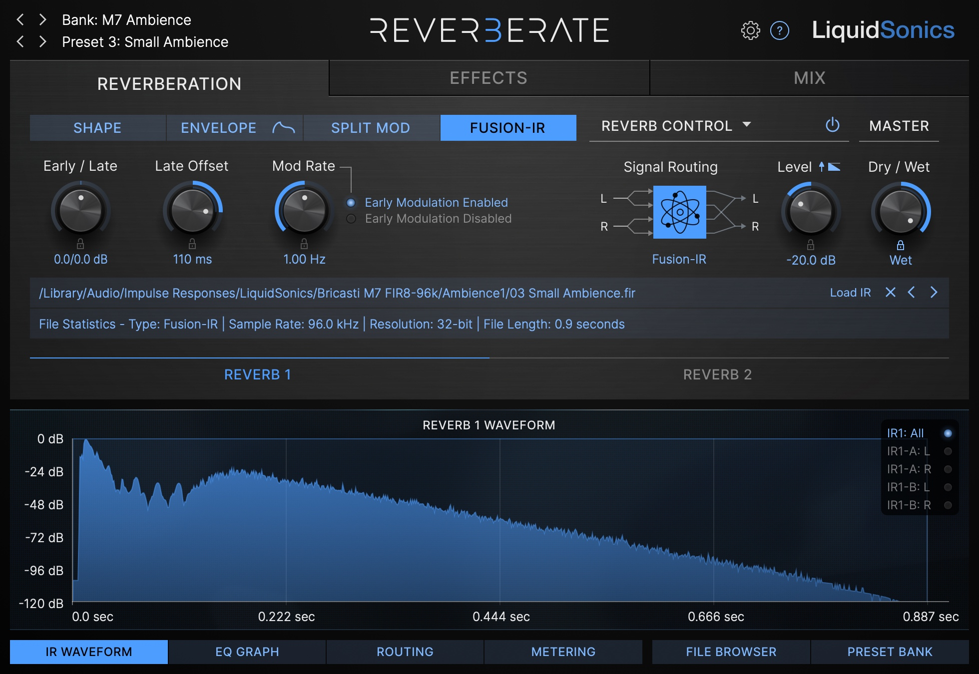 Reverberate 3 Product Shot - Fusion-IR Editing