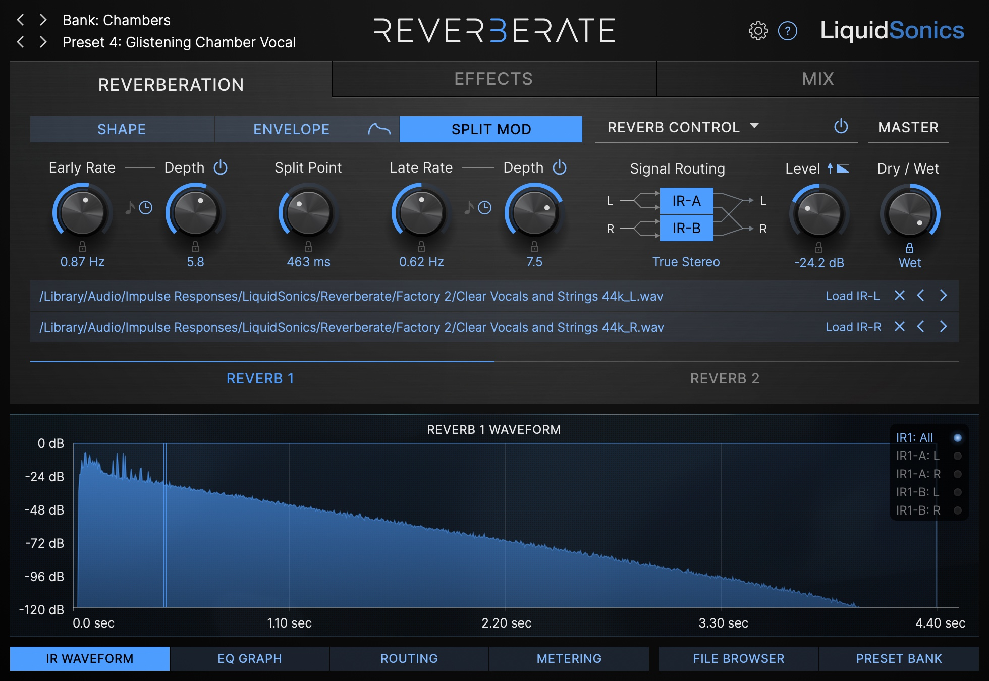 Reverberate 3 Product Shot - Split Modulation