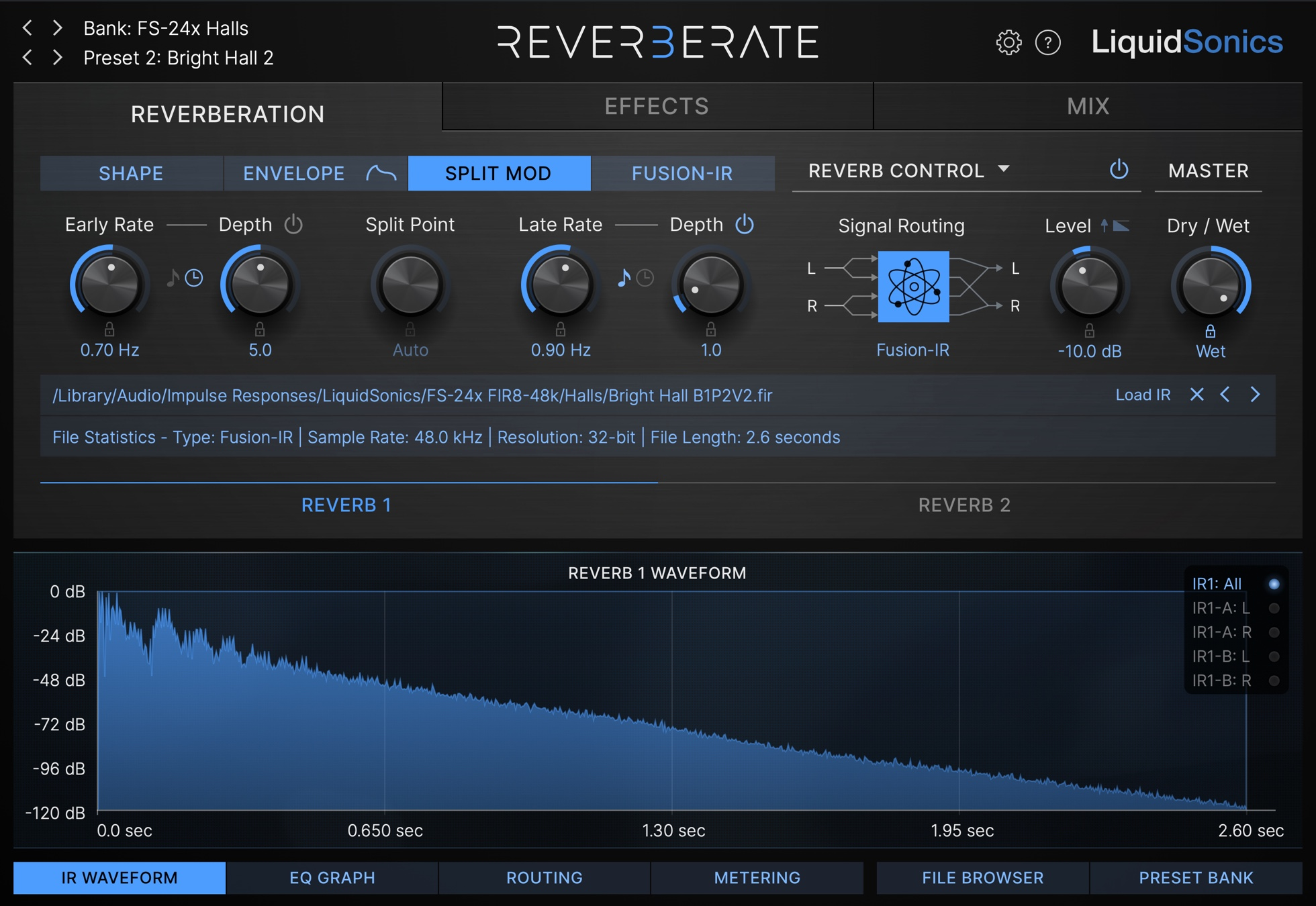 Reverberate 3 Split Mod 24x