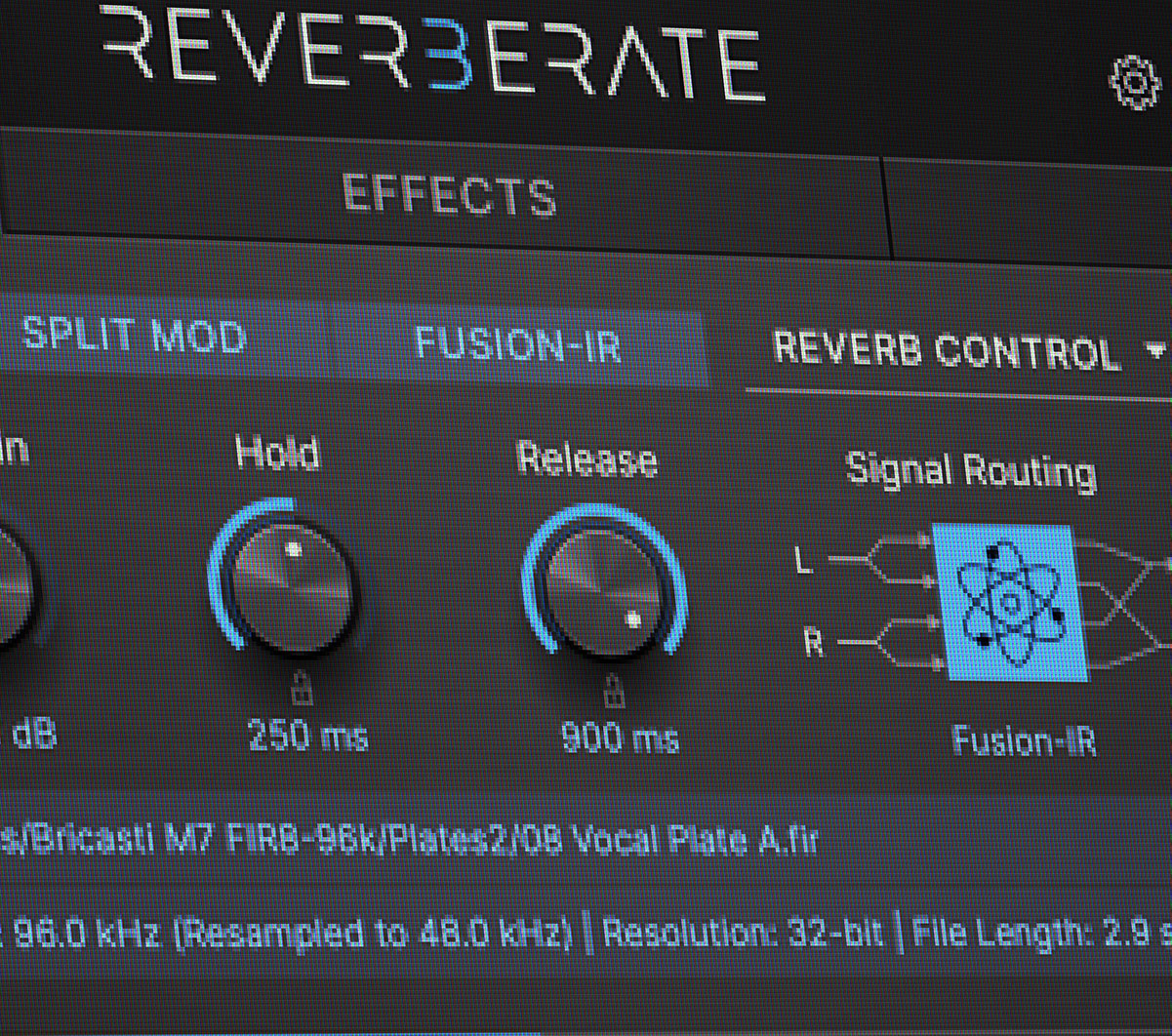 Reverberate 3 Software Boxout
