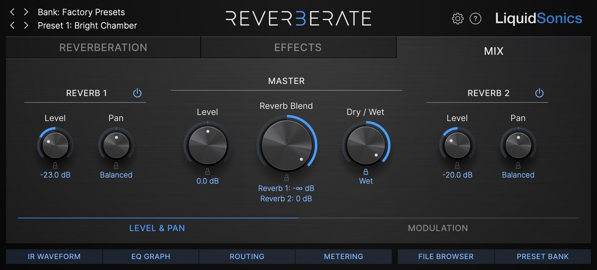 Reverberate 3 - RMX16 Mix